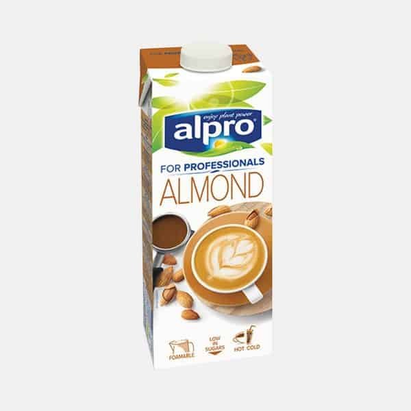 Alpro Almond Milk For Professionals