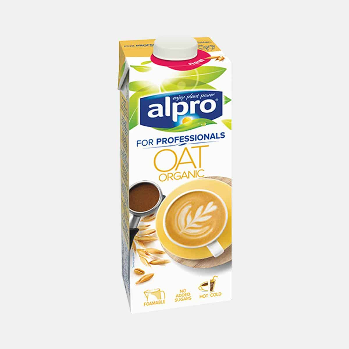 Alpro Organic Oat Milk For Professionals