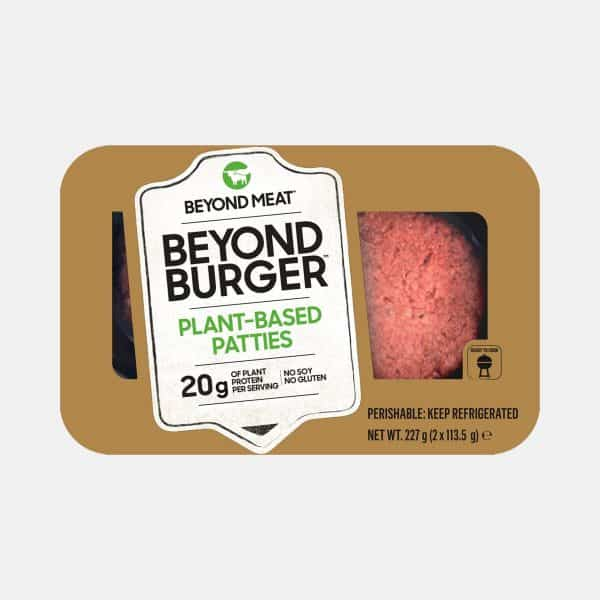 Beyond Meat Burger 2 Pieces