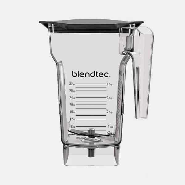 Blendtec 4 Side Jar Black Soft Lid