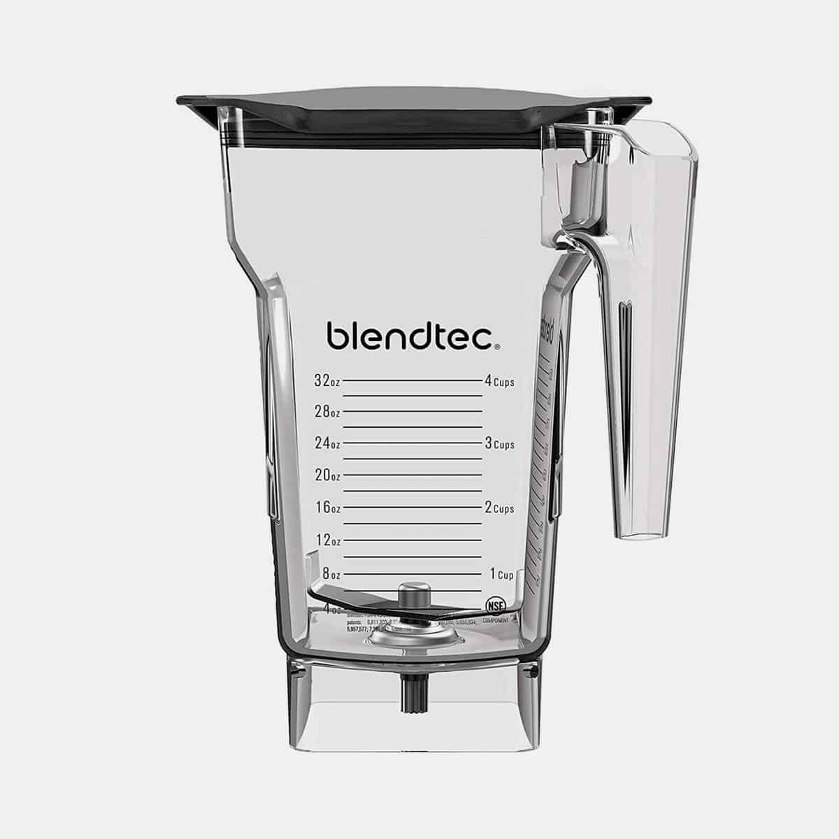 Blendtec 4 Side Jar Black Soft Lid