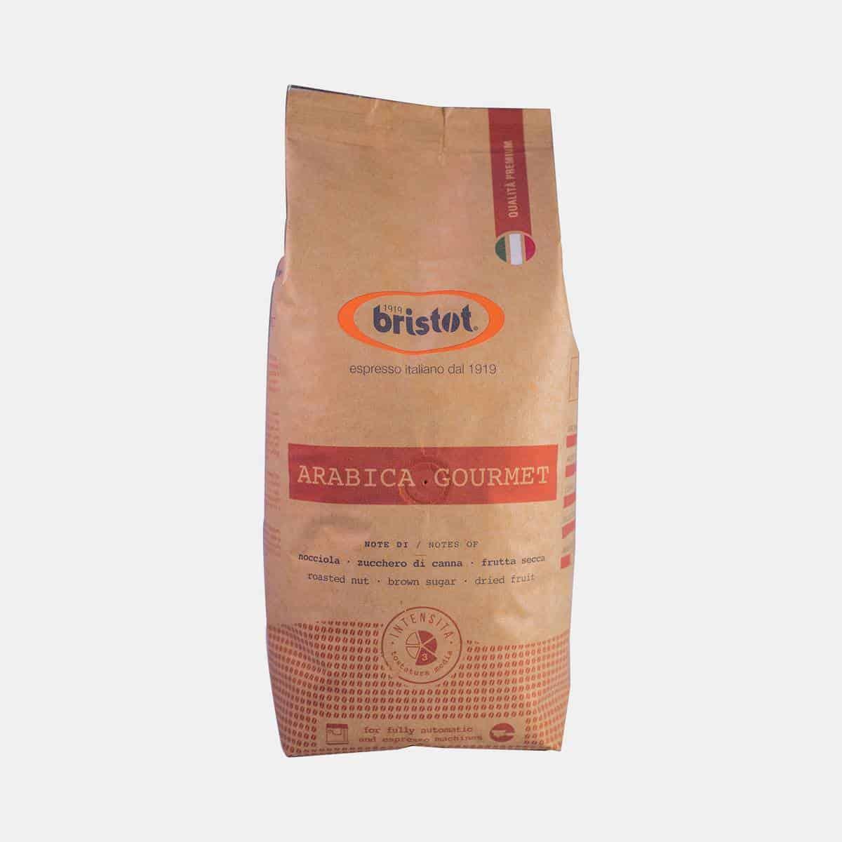 Bristot Arabica Gourmet Espresso Paper Bag