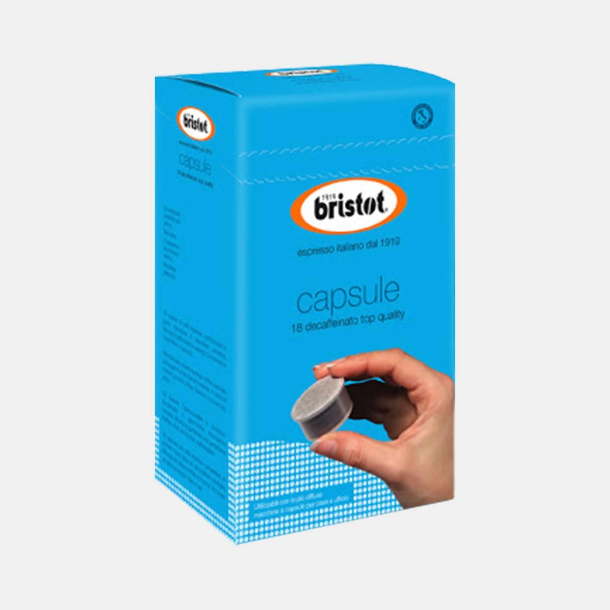 Bristot Blue Speciale Espresso Capsules