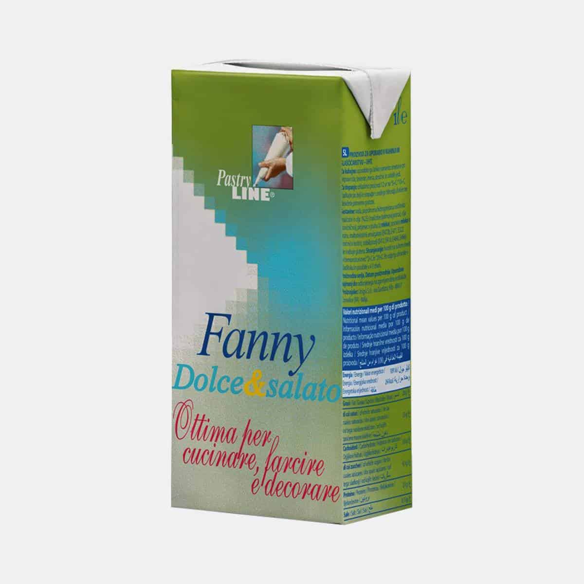 Fanny Dolce Salato Cream 1 Litre Package