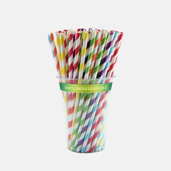 GreenWood Biodegradable Paper Straws