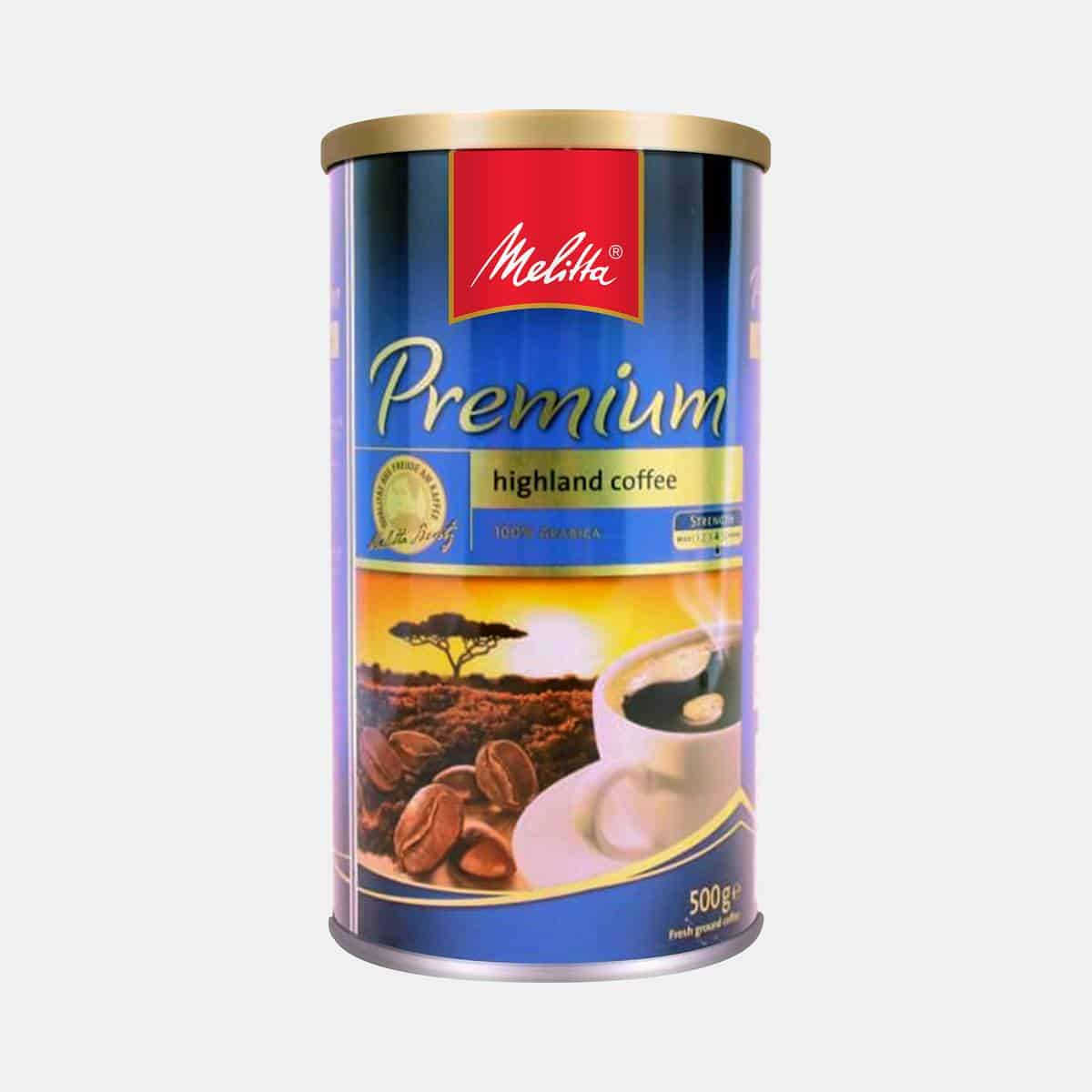 Melitta Premium Coffee 500g Tin