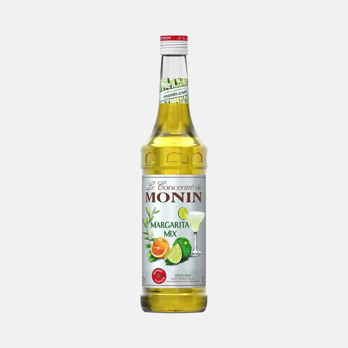 Monin Margarita Mix Concentrate 700ml Glass Bottle