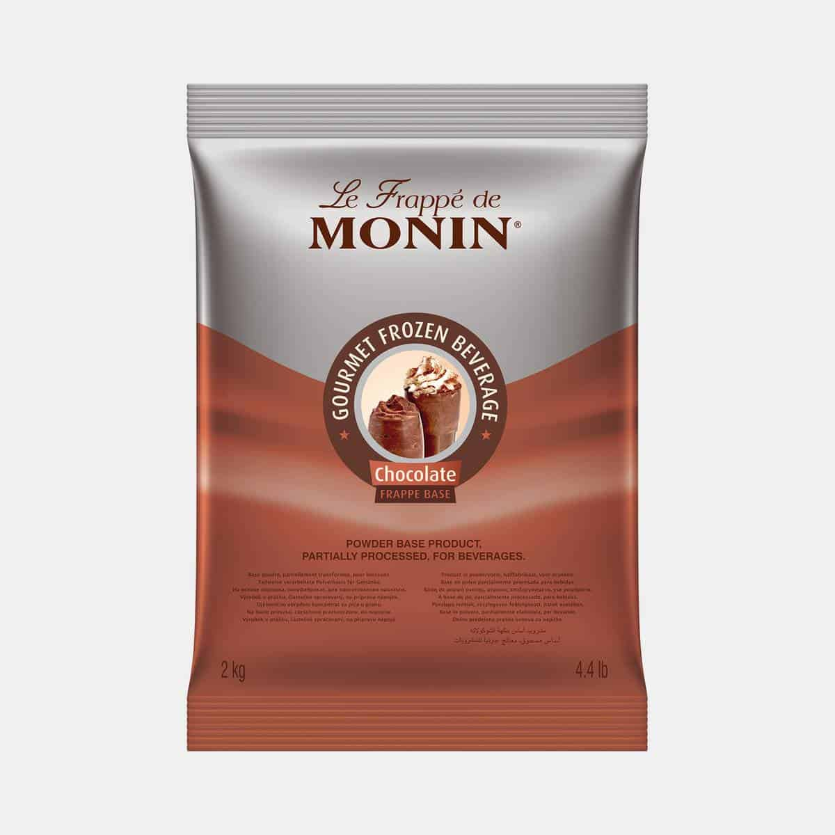 Monin Chocolate Frappe Base Powder 2kg Sealed Bag