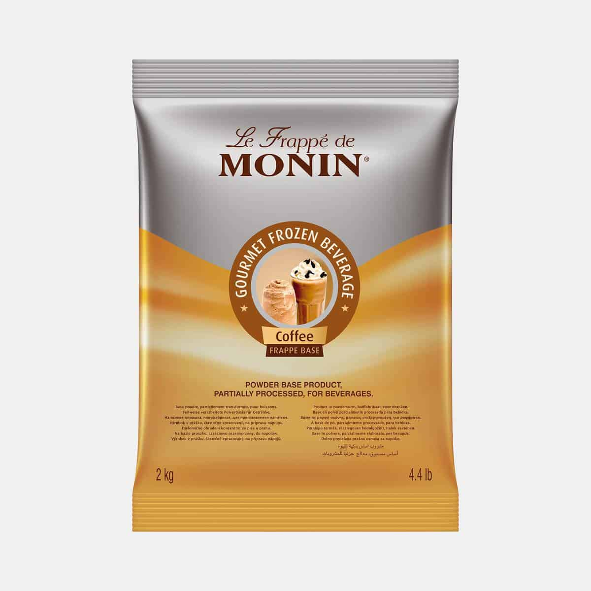 Monin Coffee Frappe Base Powder 2kg Sealed Bag