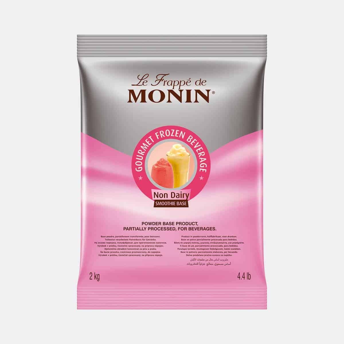 Monin Non Dairy Frappe Base Powder 2kg Sealed Bag