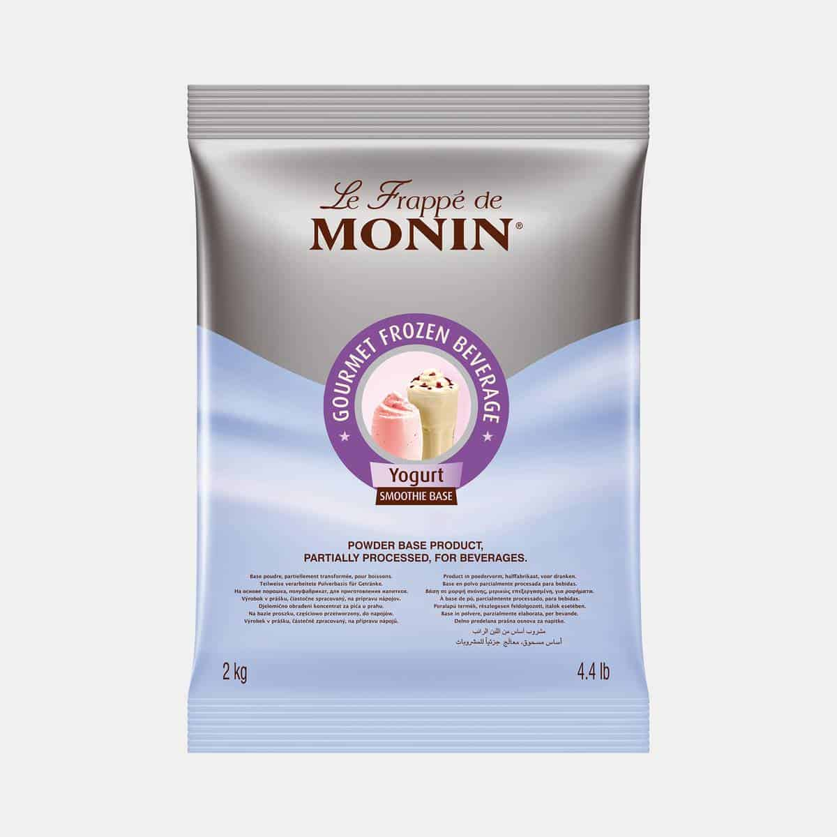 Monin Yogurt Frappe Base Powder 2kg Sealed Bag