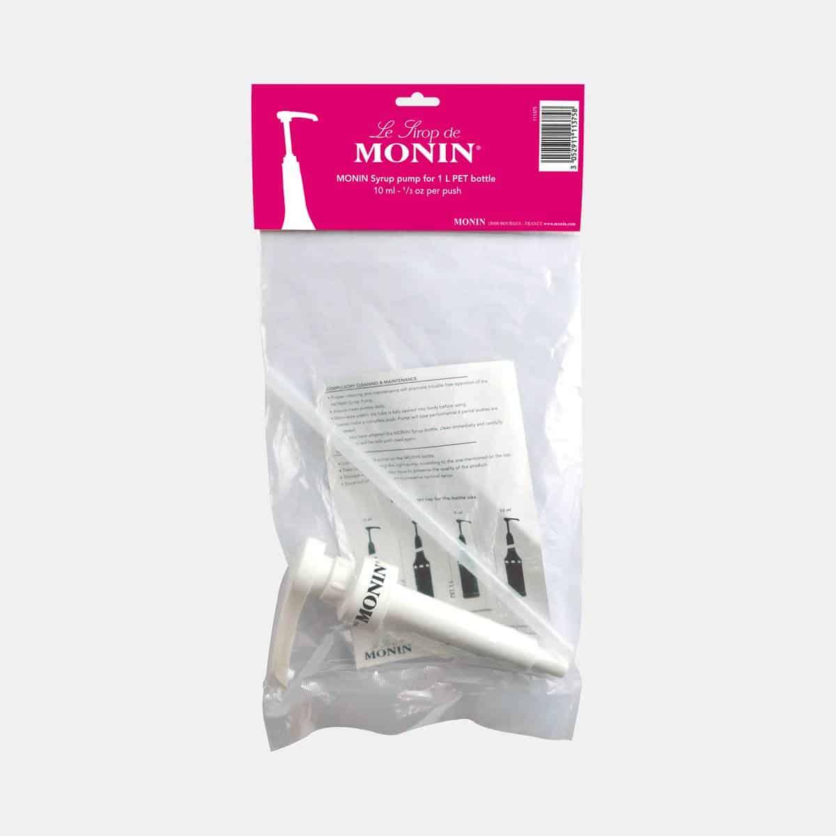 Monin 10ml Syrup Pump for 1 Liter Plastic Bottles