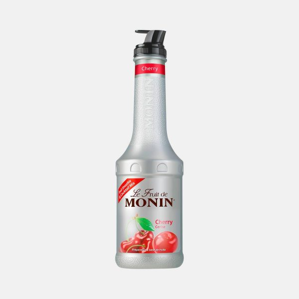 Monin Cherry Puree Fruit Mix 1 Liter Bottle