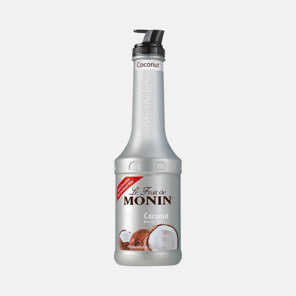 Monin Coconut Puree Fruit Mix 1 Liter Bottle