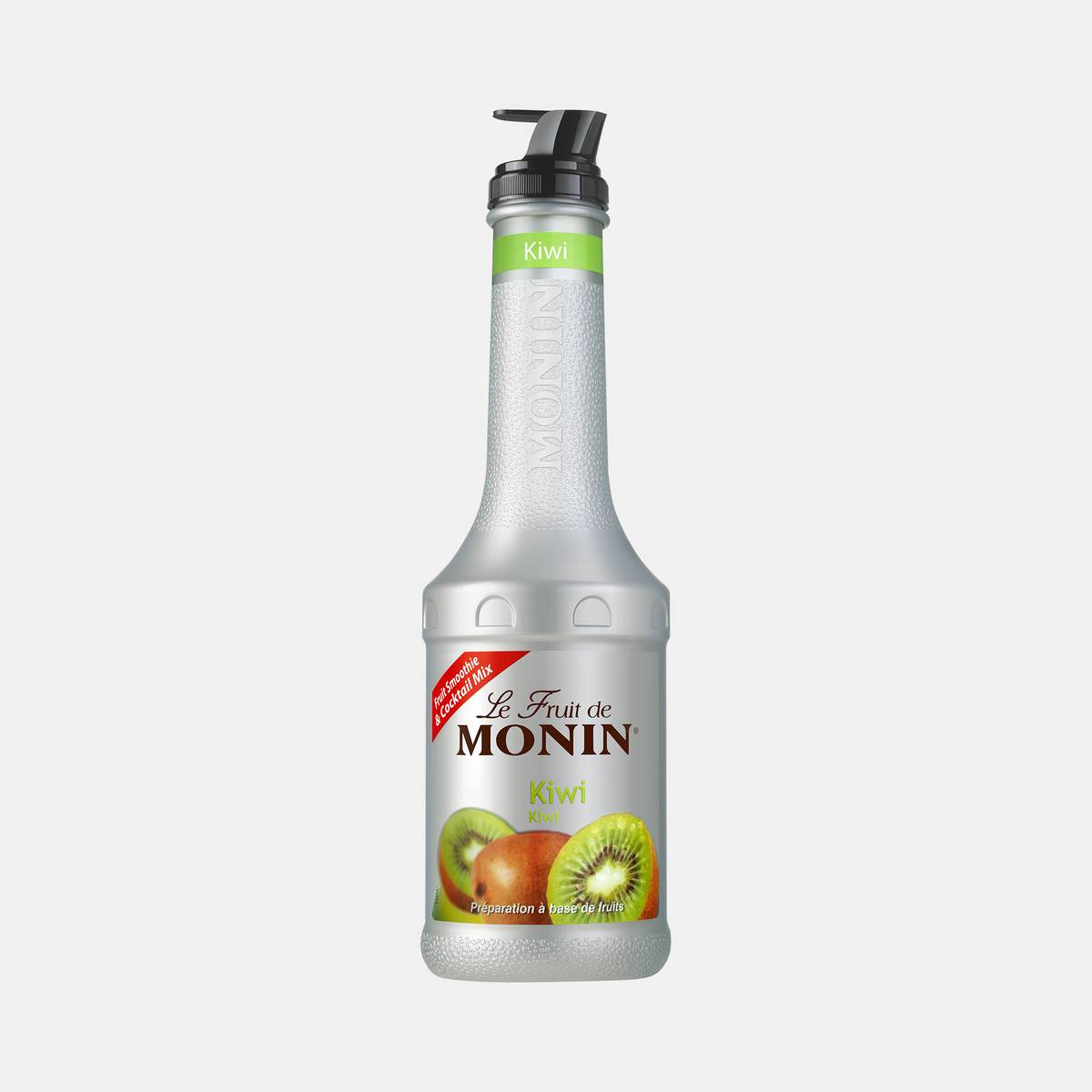 Monin Kiwi Puree Fruit Mix 1 Liter Bottle