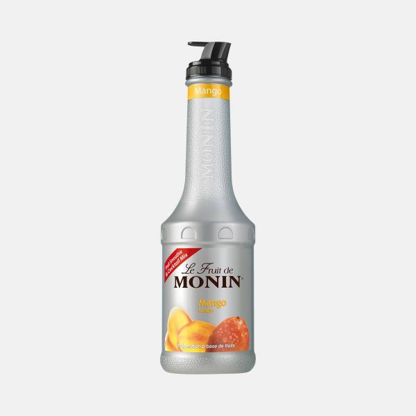 Monin Mango Puree Fruit Mix 1 Liter Bottle