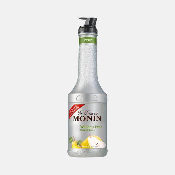Monin Pear Puree Fruit Mix 1 Liter Bottle