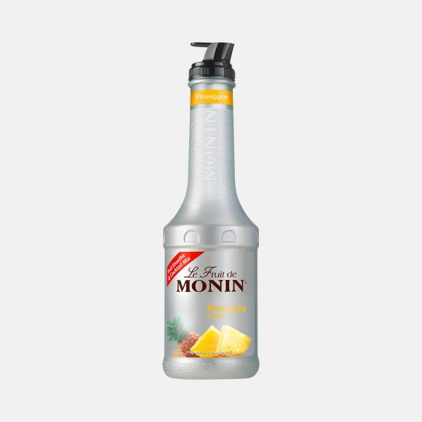 Monin Pineapple Puree Fruit Mix 1 Liter Bottle