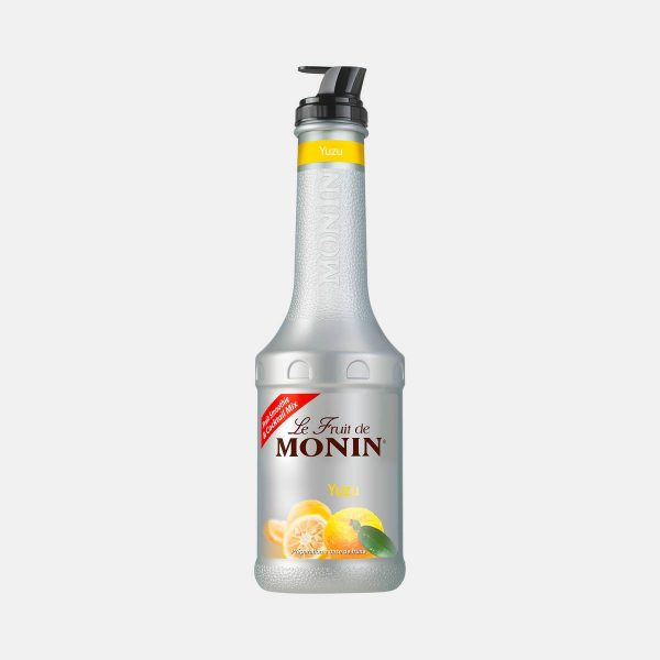 Monin Yuzu Puree Fruit Mix 1 Liter Bottle