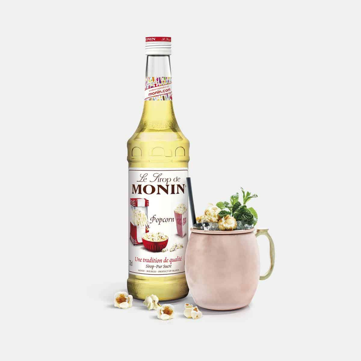 Monin 700ml Popcorn Syrup with Application Drink