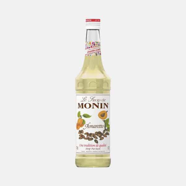 Monin Amaretto Syrup 700ml Glass Bottle