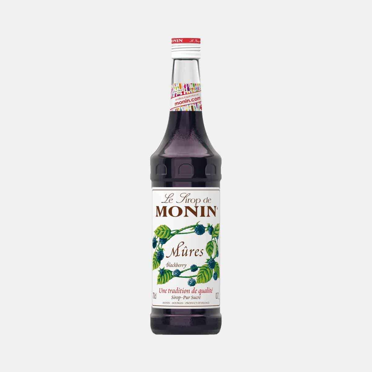 Monin Blackberry Syrup 700ml Glass Bottle