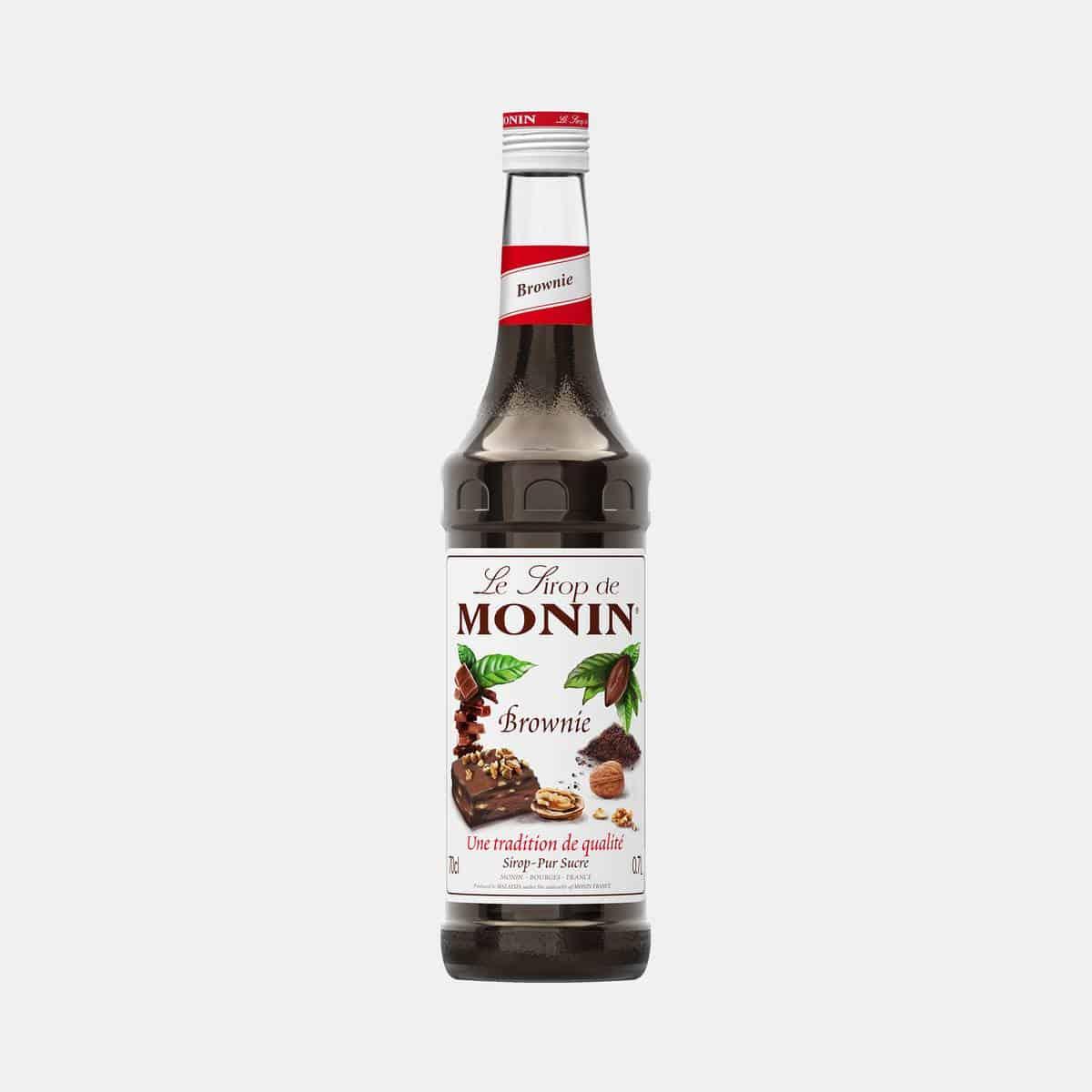 Monin Brownie Syrup 700ml Glass Bottle