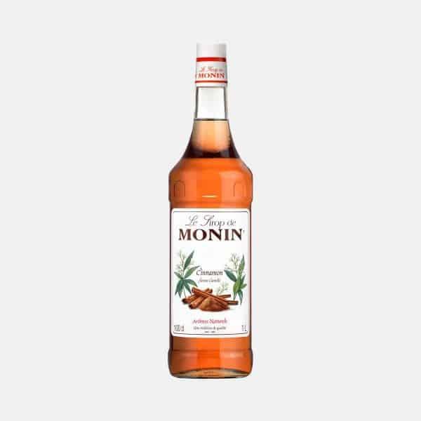 Monin Cinnamom Syrup 1 Liter Glass Bottle