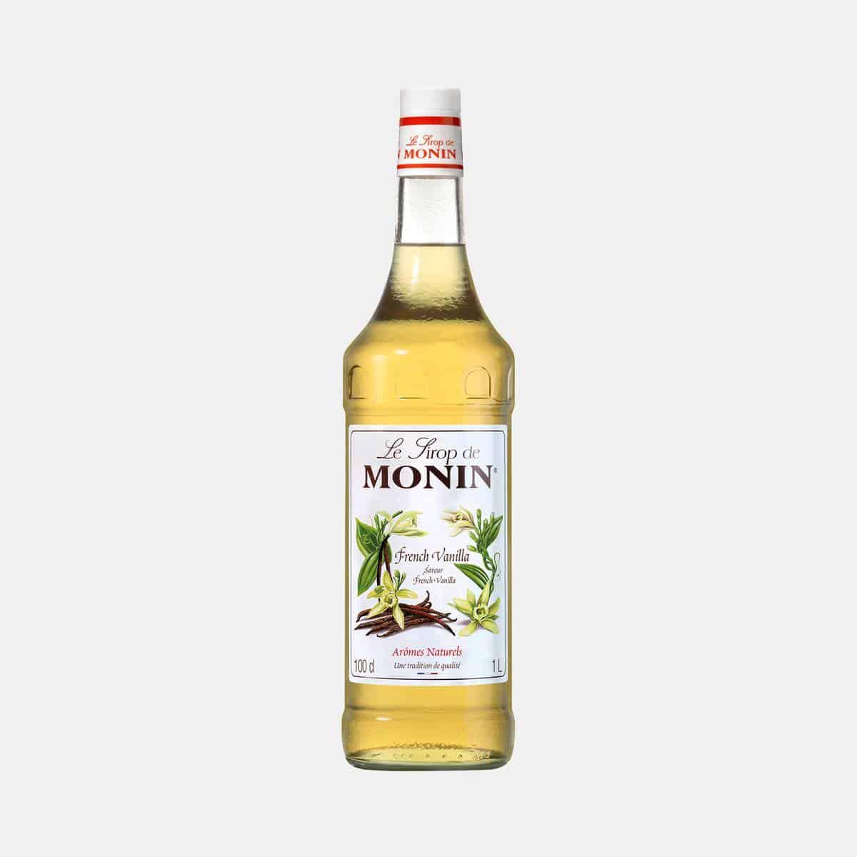 Monin French Vanilla Syrup 1 Liter Bottle