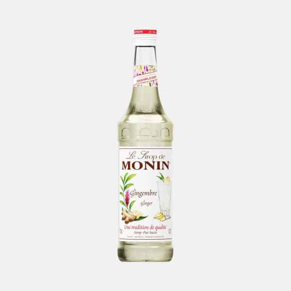 Monin Ginger Syrup 700ml Glass Bottle