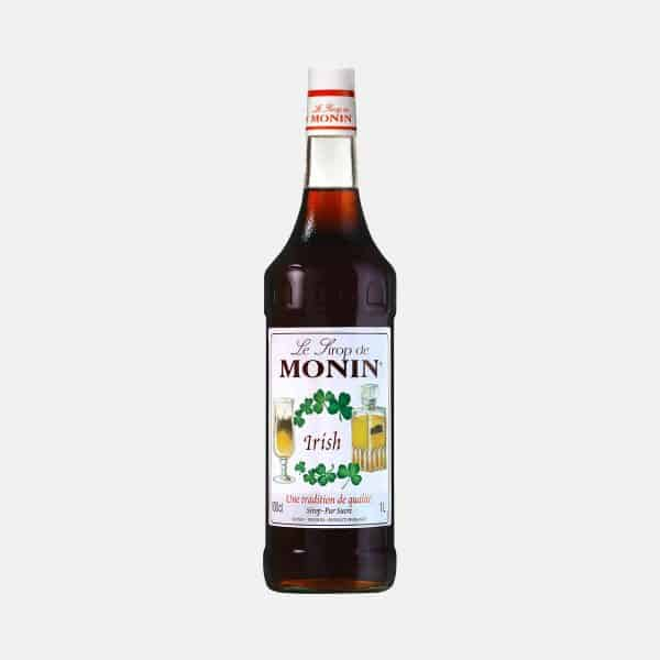 Monin Irish Syrup 1 Liter Glass Bottle