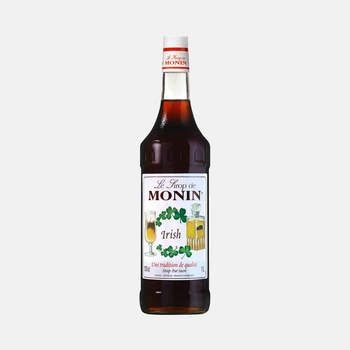 Monin Irish Syrup 1 Liter Glass Bottle