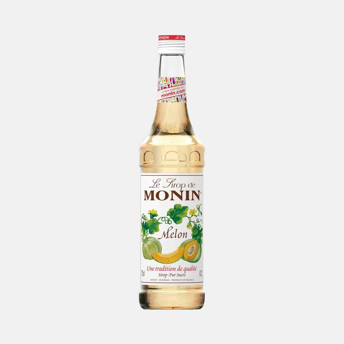 Monin Melon Syrup 700ml Glass Bottle