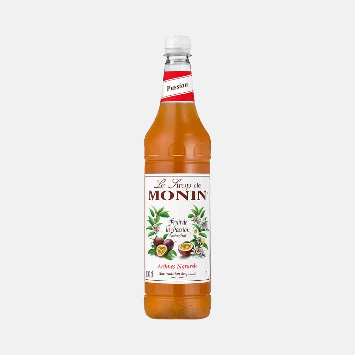 Monin Passion Fruit Syrup 1 Liter PET
