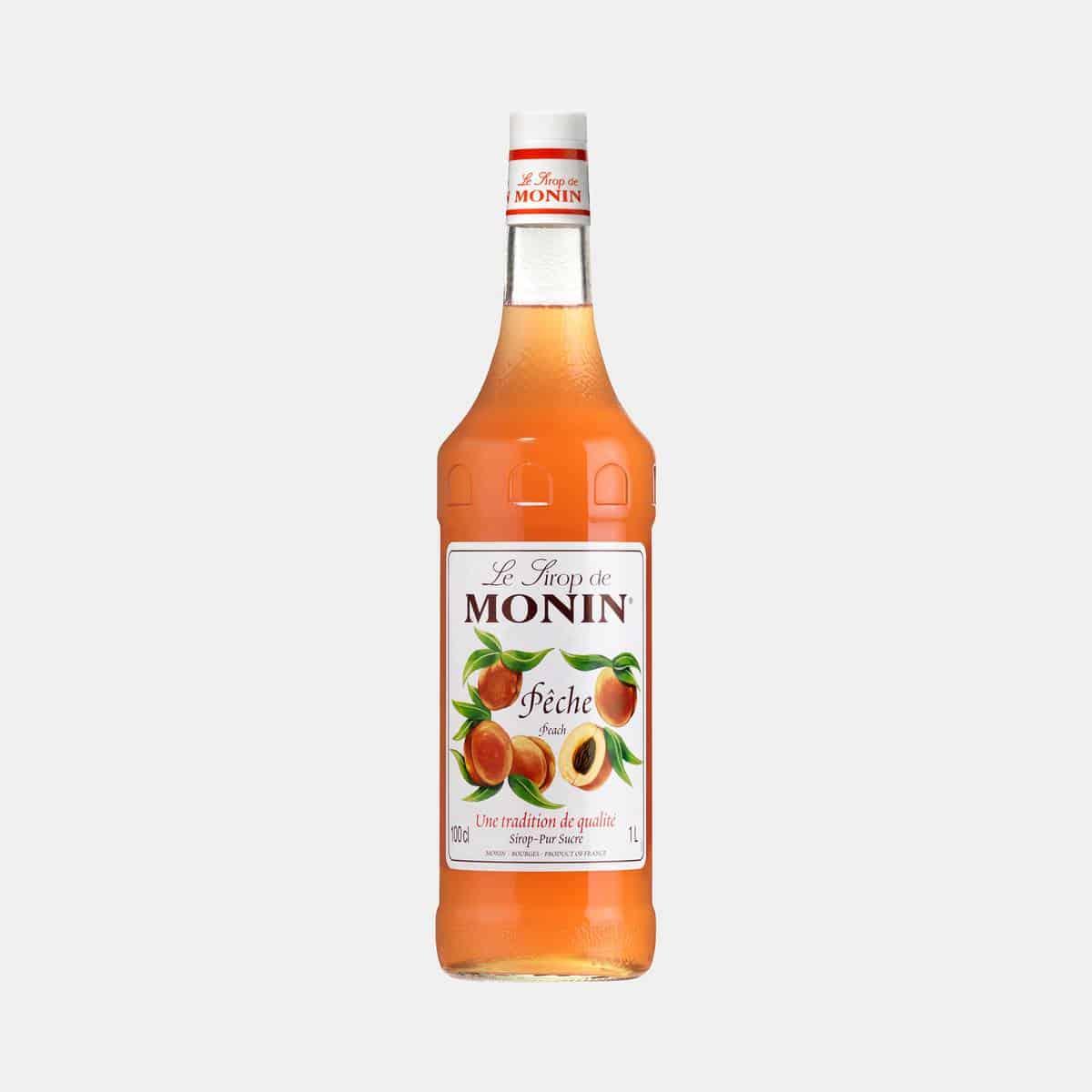 Monin Peach Syrup 1 Liter