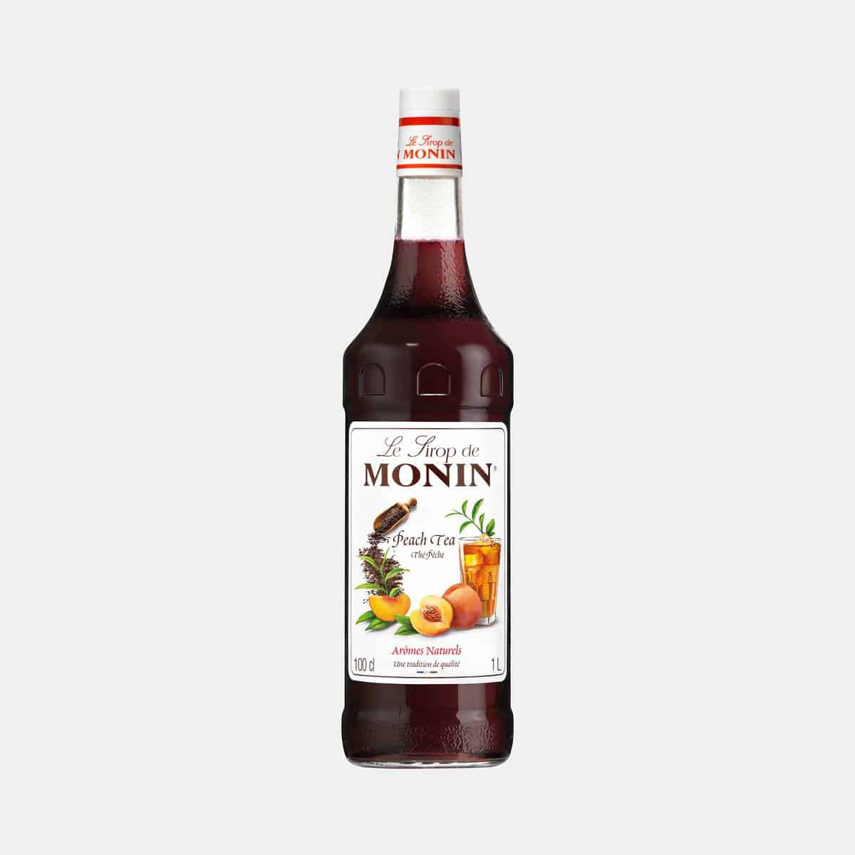 Monin Peach Tea Syrup 1 Liter