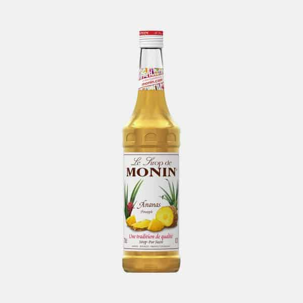Monin Pineapple Syrup 700ml Glass Bottle