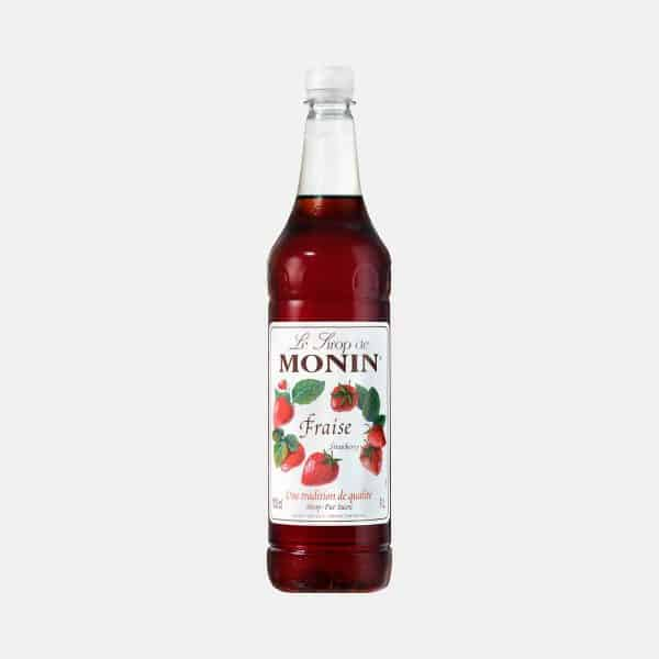 Monin Strawberry Syrup 1 Liter PET