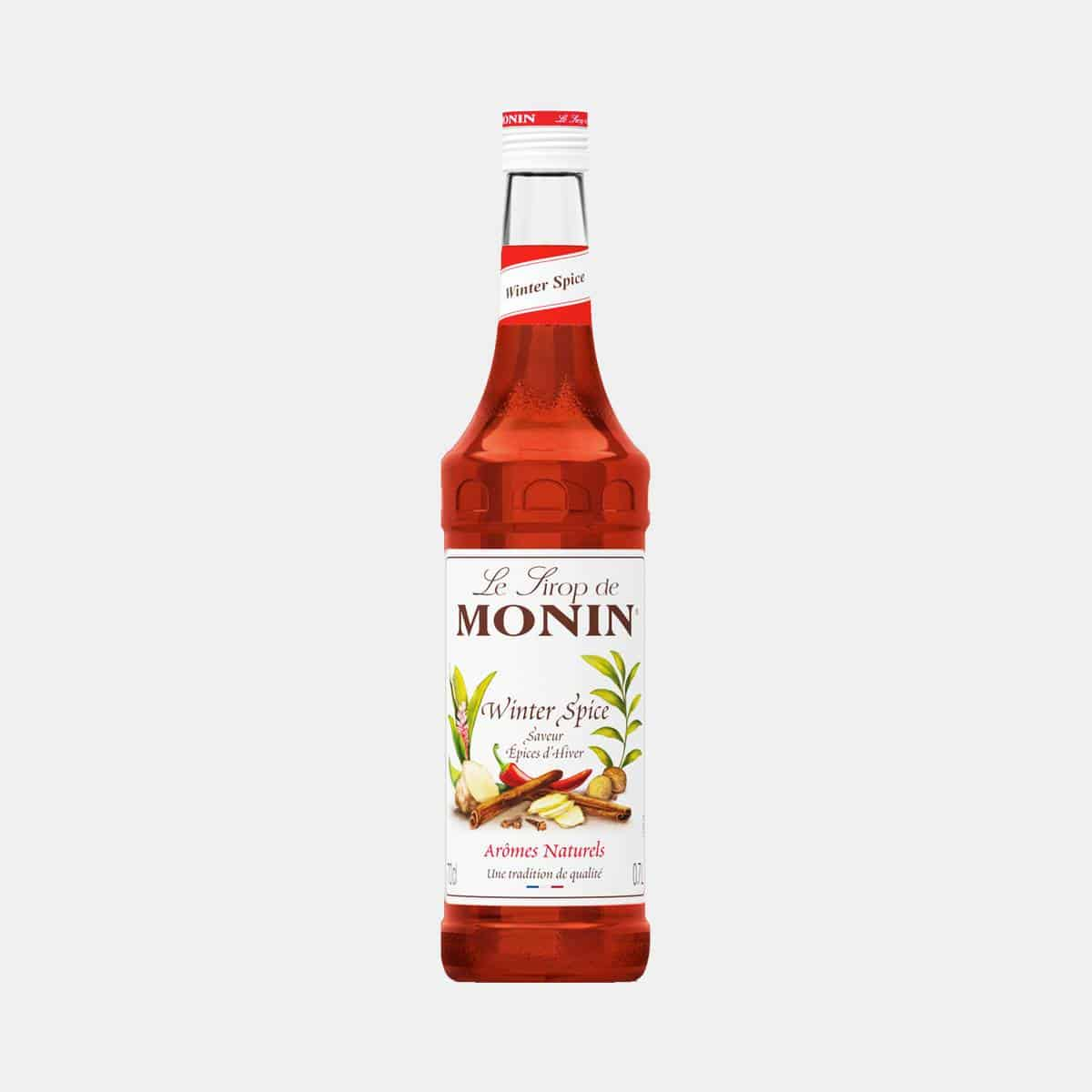 Monin Syrup Winter Spice 700ml Glass Bottle