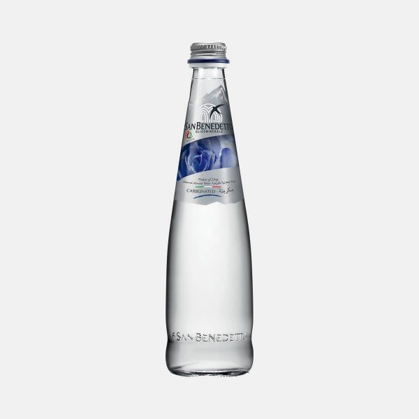 San Benedetto Prestige Bianca Natural Sparkling Mineral Water 500ml