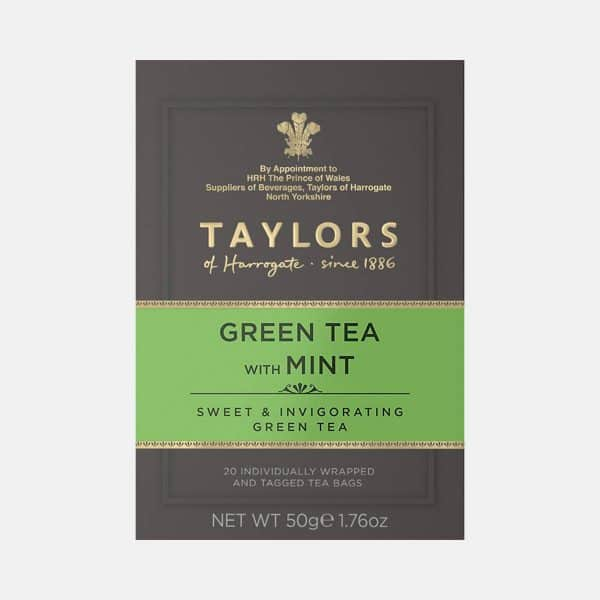Taylors of Harrogate Green Tea With Mint 50g
