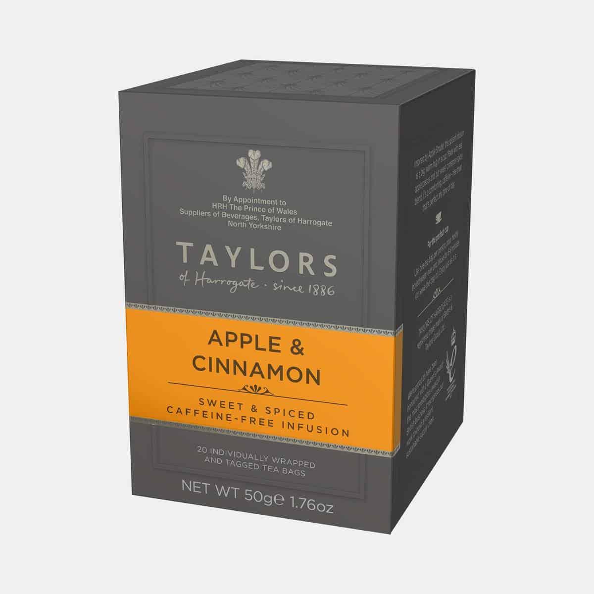 Taylors of Harrogate Apple & Cinnamon Tea 50g