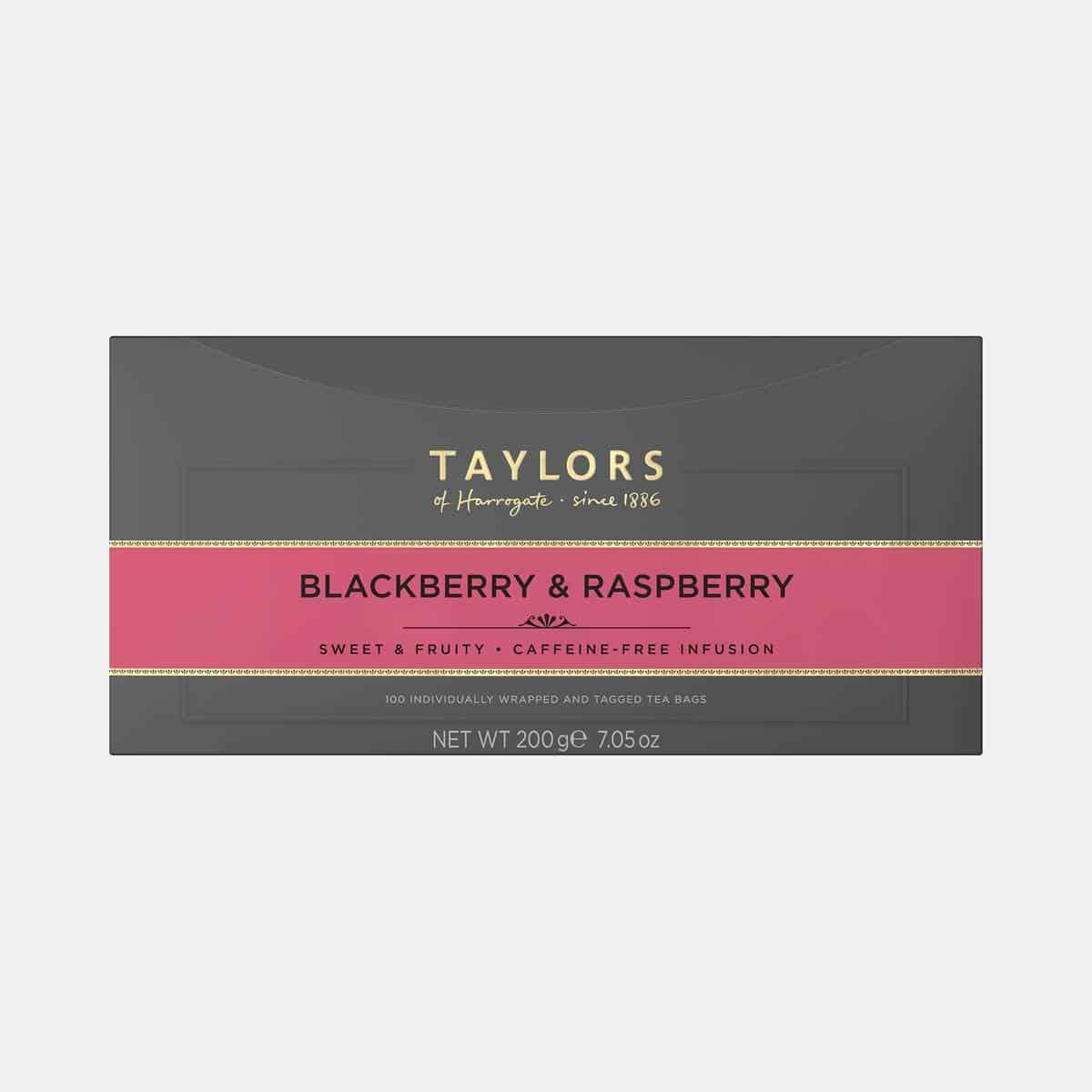 Taylors Blackberry Raspberry Tea 200g