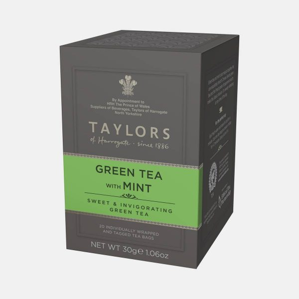 Taylors of Harrogate Green Tea with Mint 30g