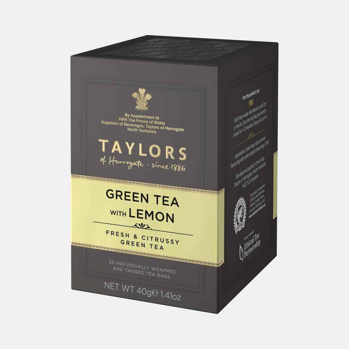 Taylors of Harrogate Green Tea with Lemon 40g