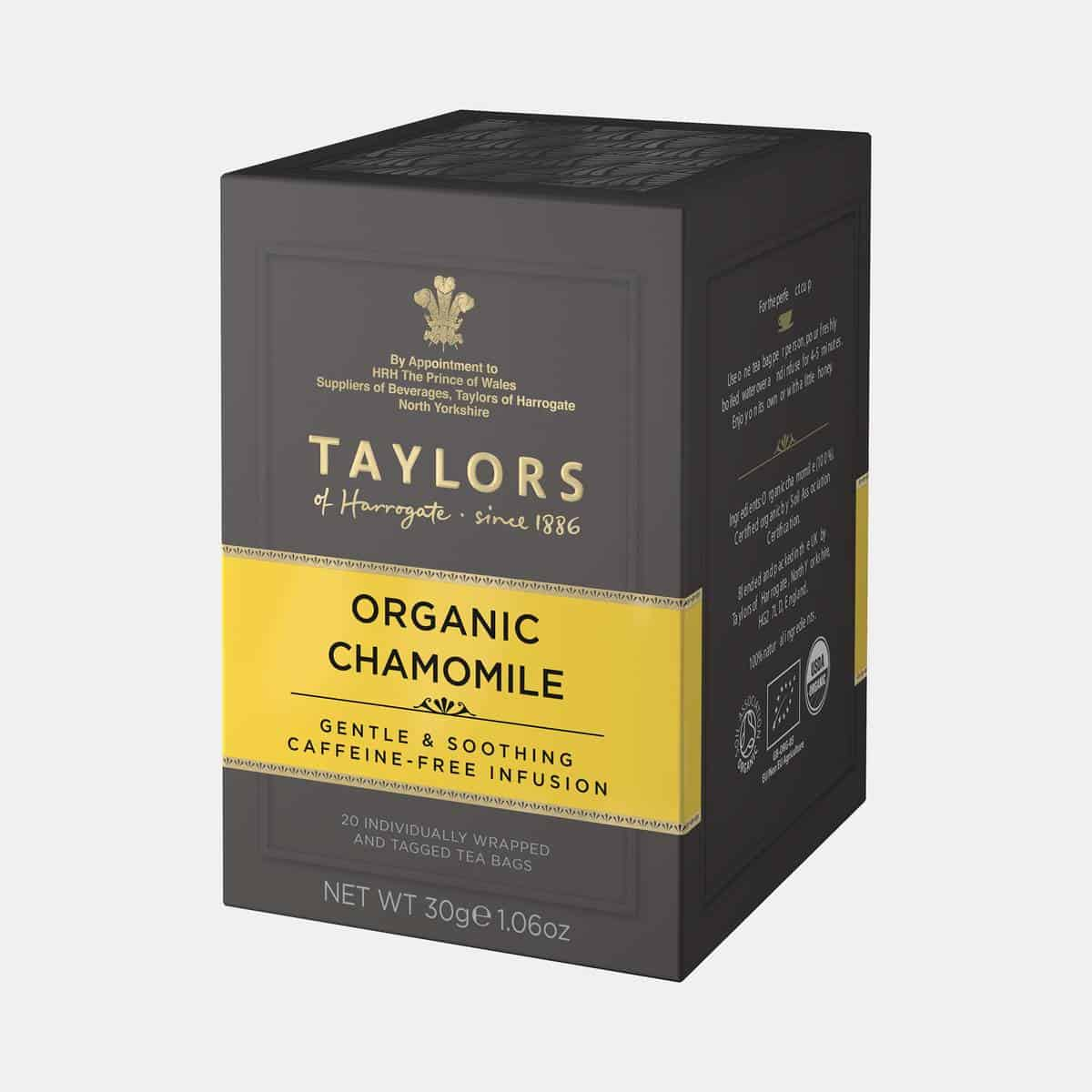 Taylors of Harrogate Organic Chamomile Tea 30g