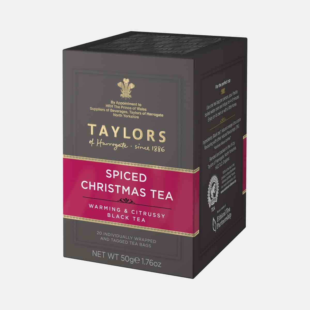 Taylors of Harrogate Spiced Christmas Tea 50g