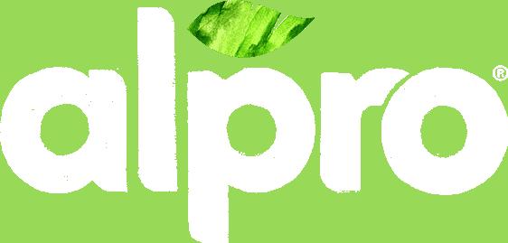 Alpro new logo reverse
