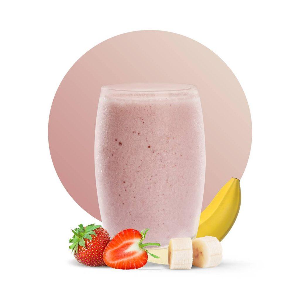 Banana Strawberry Delight Drink Recipe