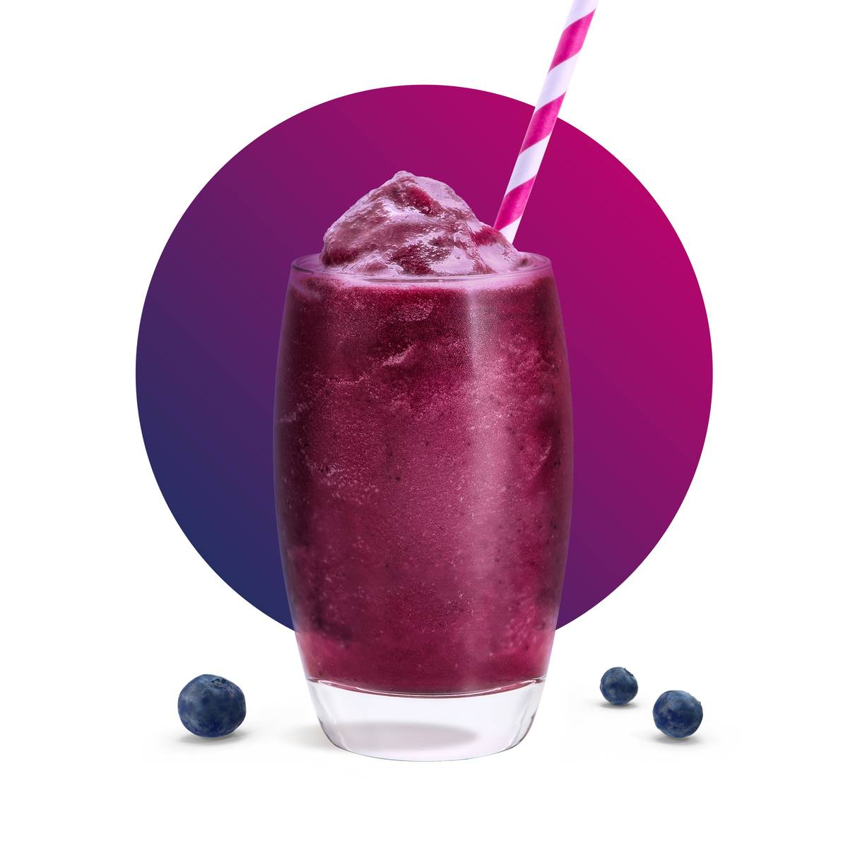 Blueberry Smoothie Drink